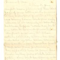 Letter from Helen Berry Lane to Helen Berry, September 1, 1875