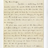 Letter from John Green Lane to Helen Berry Lane, May 26, 1877