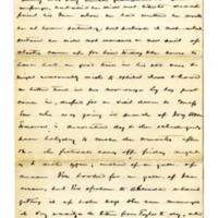 Letter from John Green Lane to Helen Berry Lane, June 6, 1877